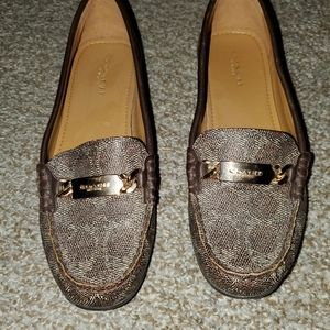 Coach loafers- EUC